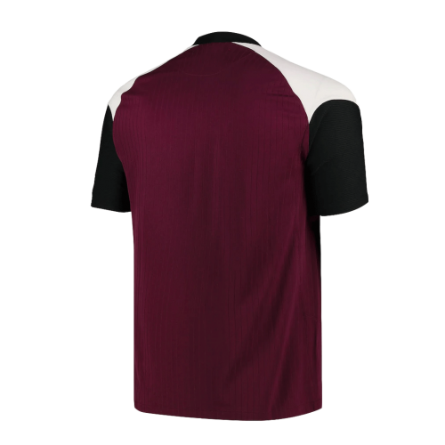 20/21 PSG Third Away Dark Red Soccer Jerseys Shirt(Player Version)