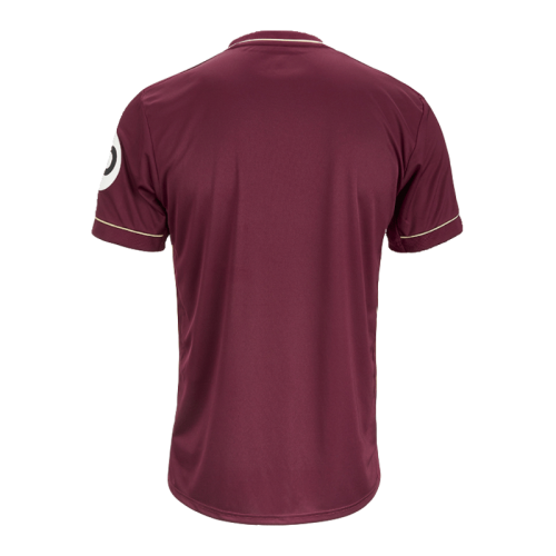 20/21 Leeds United Third Away Dark Red Jerseys Shirt(Player Version)