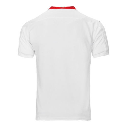 20/21 AC Milan Away White Soccer Jerseys Shirt(Player Version)