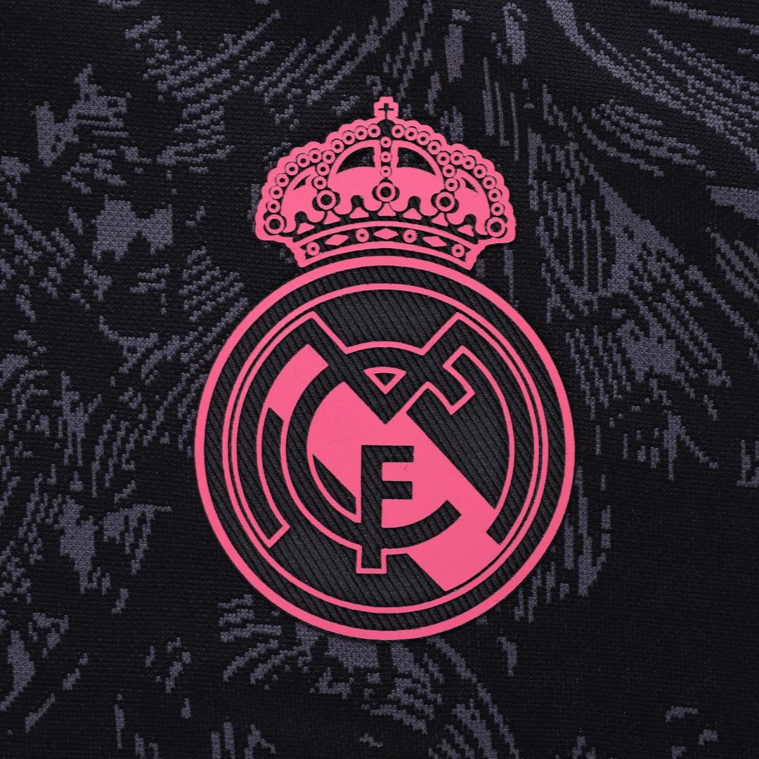 20/21 Real Madrid Third Away Black Soccer Jerseys Shirt