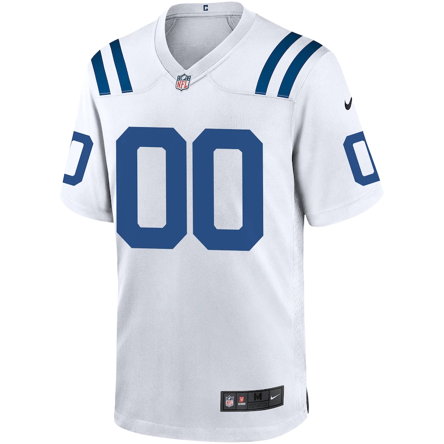 Men's Indianapolis Colts NFL Nike White Vapor Limited Jersey