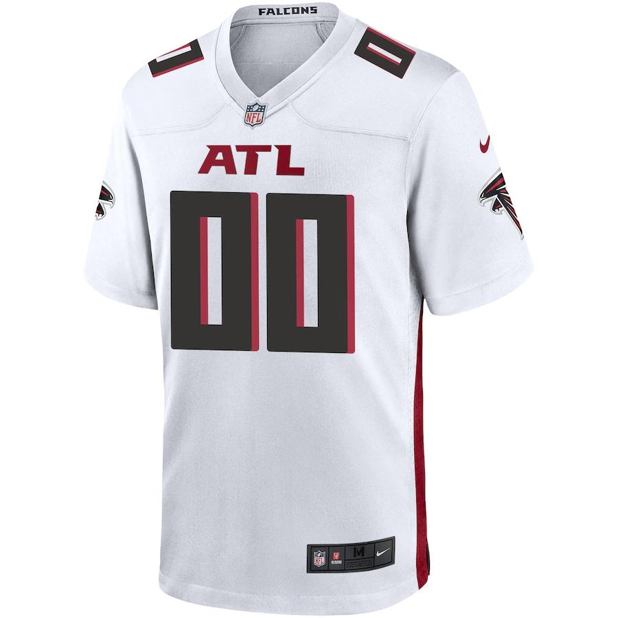 Men's Atlanta Falcons NFL Nike White Vapor Limited Jersey
