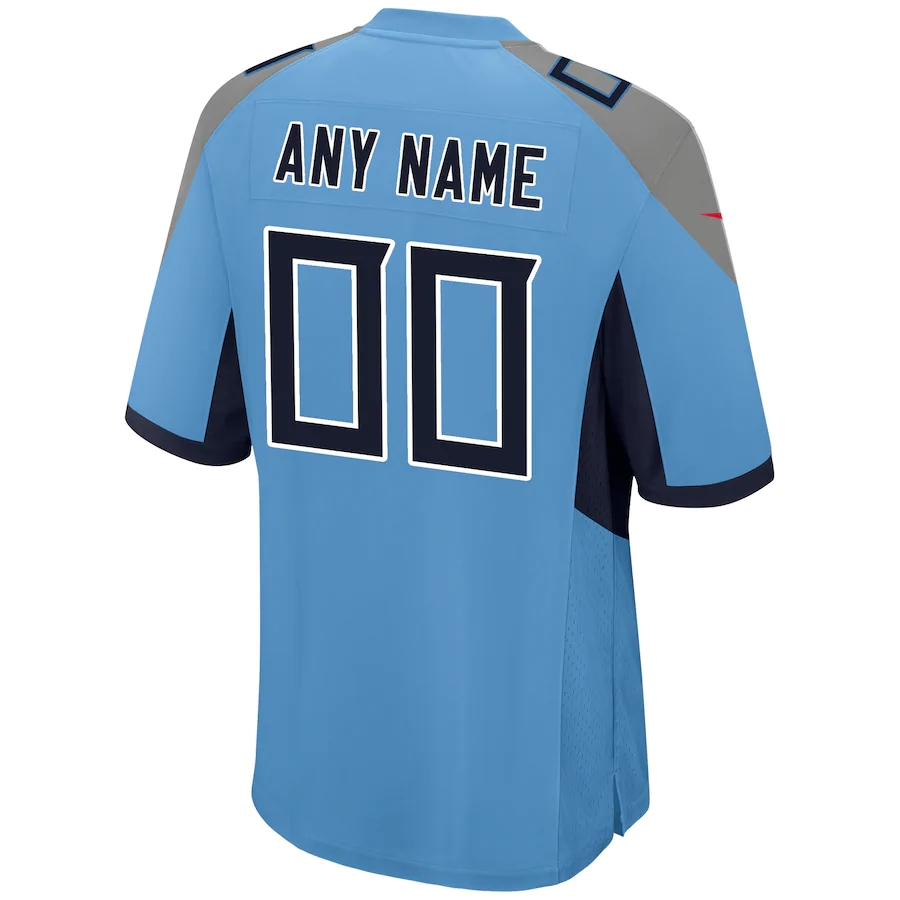 Men's Tennessee Titans NFL Nike Light Blue Alternate Vapor Limited Jersey