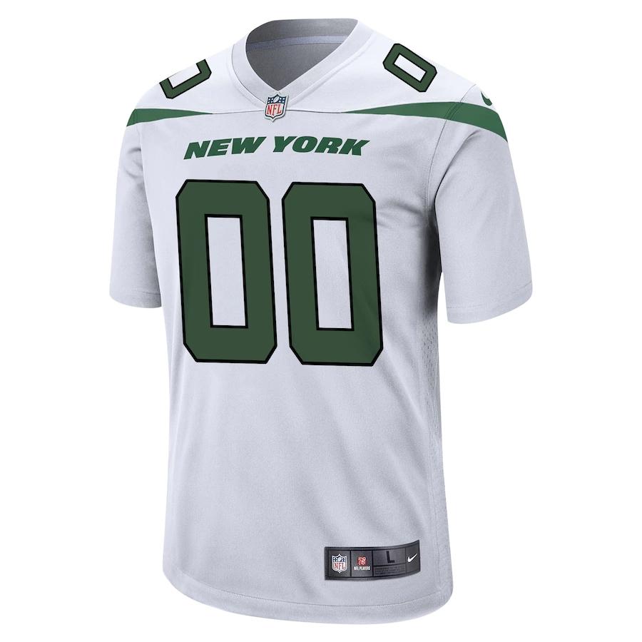 New York Jets NFL Nike Custom Limited Jersey - White