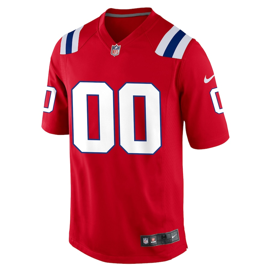 Men's New England Patriots NFL Nike Red Alternate Vapor Limited Jersey