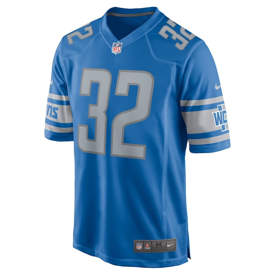 D'Andre Swift Detroit Lions Nike Team Game Jersey - Blue