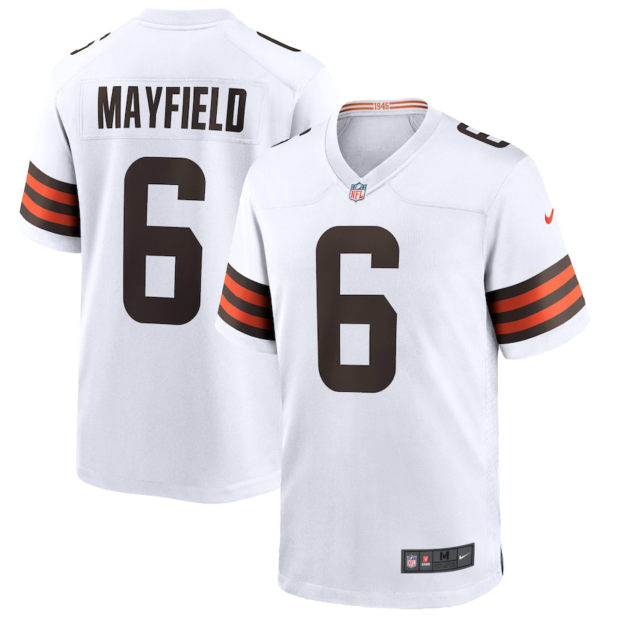 Baker Mayfield Cleveland Browns Nike Player Game Jersey - White