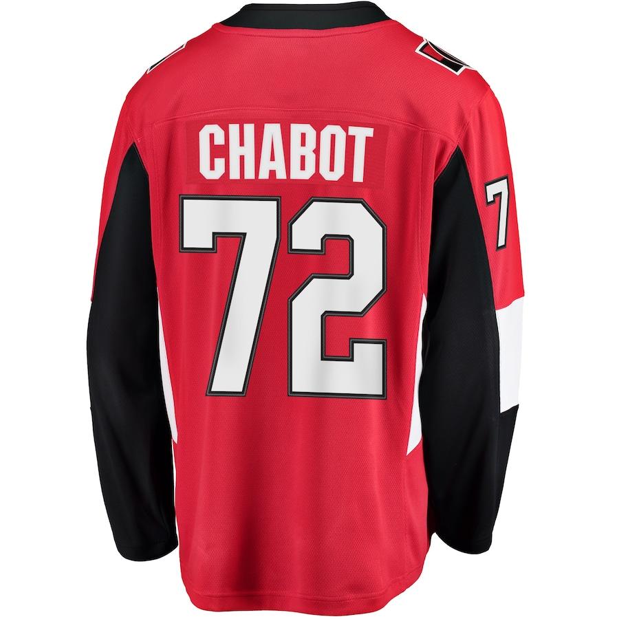 Thomas Chabot #72 Ottawa Senators Fanatics Branded Breakaway Player Jersey - Red