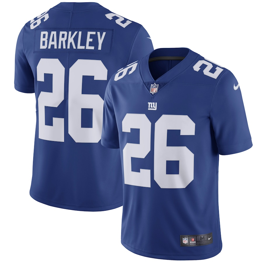 Saquon Barkley New York Giants Nike Team Color Vapor Untouchable Limited Jersey - Royal