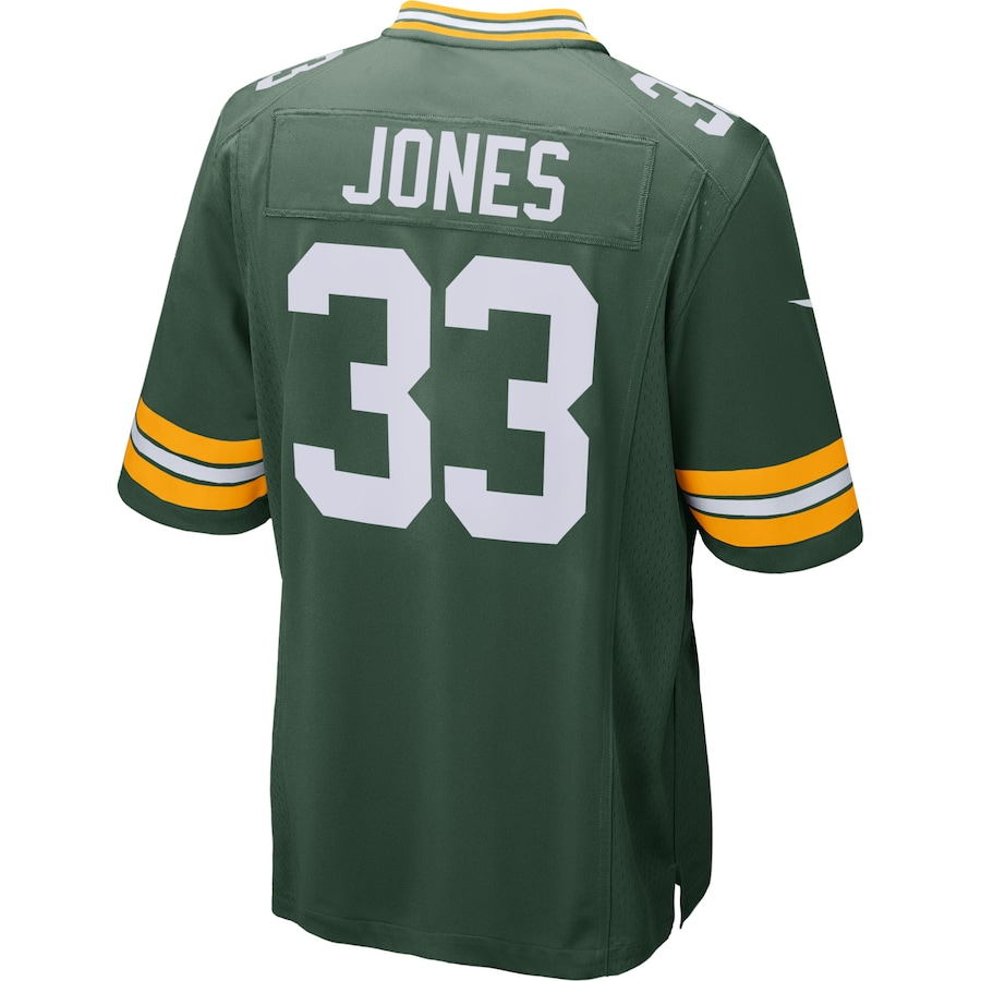 Aaron Jones Green Bay Packers Nike Player Game Jersey - Green