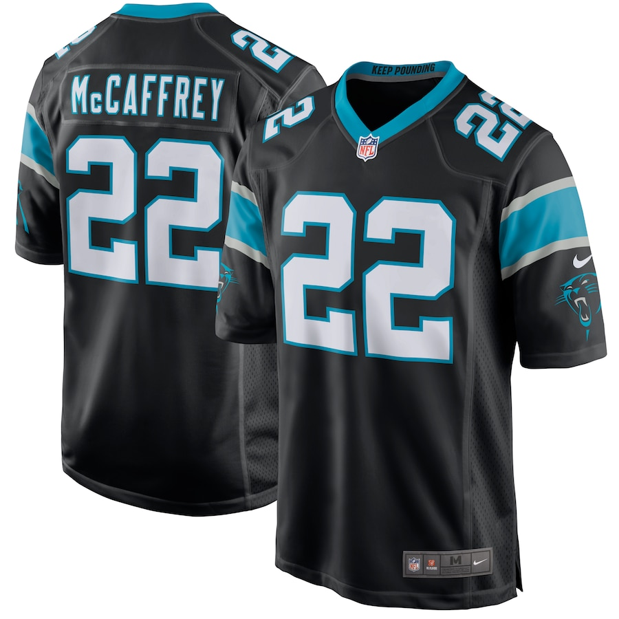 Christian McCaffrey Carolina Panthers Nike Player Jersey - Black