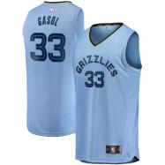Memphis Grizzlies Jersey Marc Gasol #33 NBA Jersey