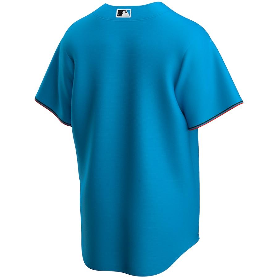 Miami Marlins Nike Alternate 2020 Official Replica Team Jersey - Blue