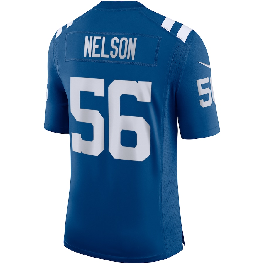 Quenton Nelson Indianapolis Colts Nike Vapor Limited Jersey - Royal