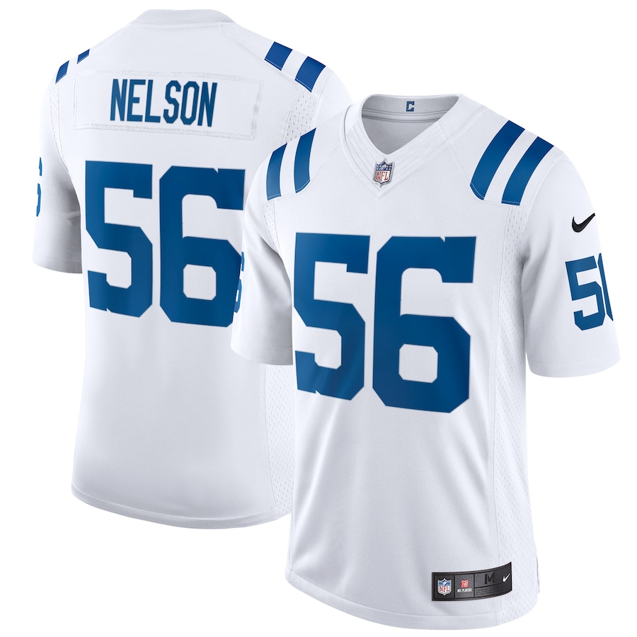 Quenton Nelson Indianapolis Colts Nike Vapor Limited Jersey - White