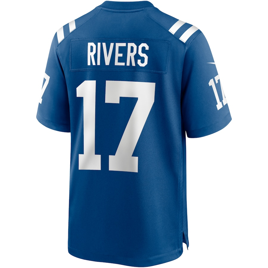 Philip Rivers Indianapolis Colts Nike 2020 Game Jersey - Royal