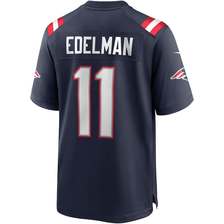 Julian Edelman New England Patriots Nike Game Jersey - Navy
