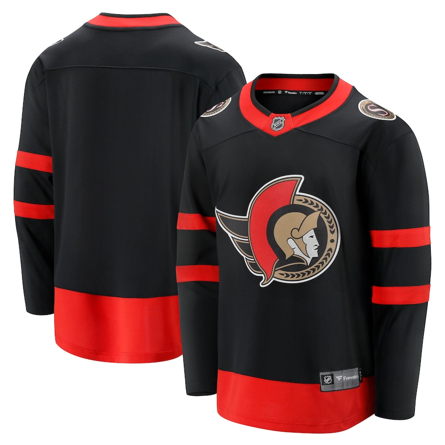 Ottawa Senators Fanatics Branded 2020/21 Home Breakaway Jersey - Black