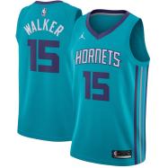 Charlotte Hornets Jersey Kemba Walker #15 NBA Jersey