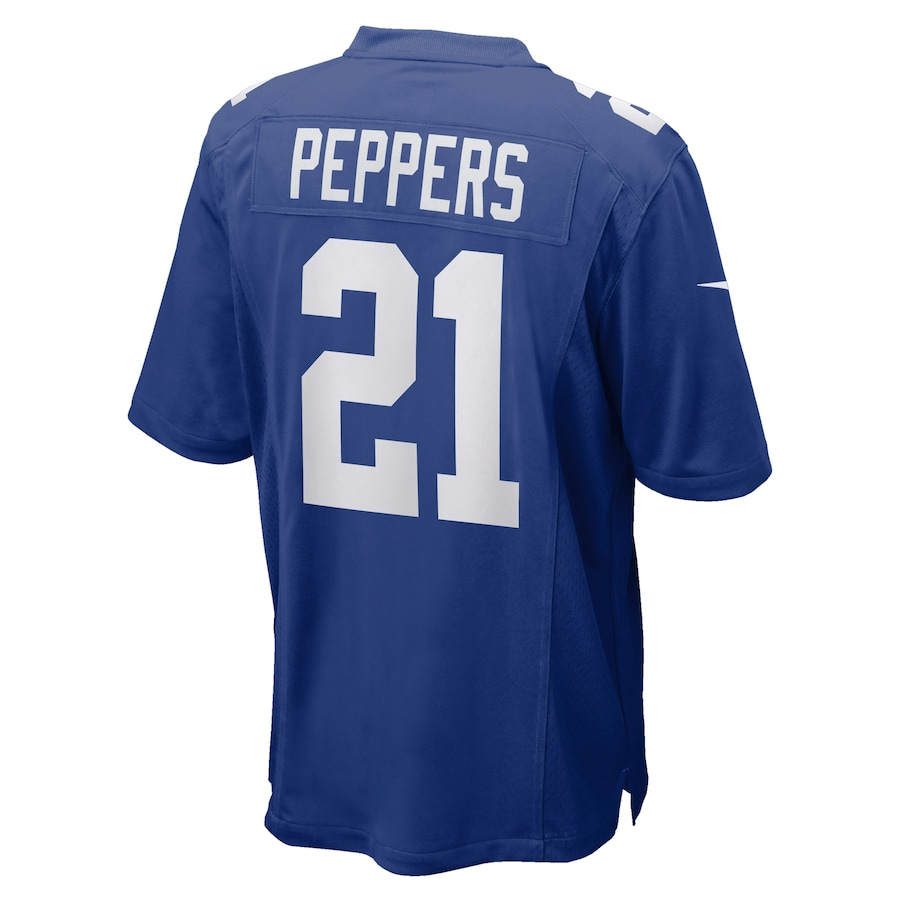 Jabrill Peppers New York Giants Nike Game Jersey – Royal