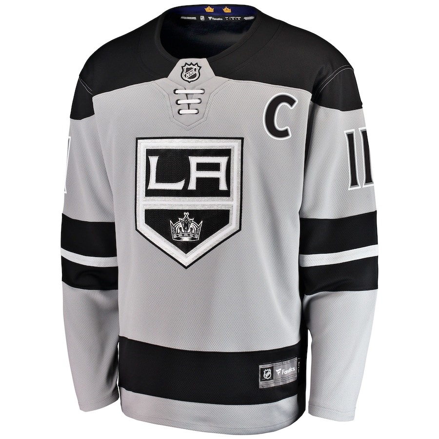 Anze Kopitar #11 Los Angeles Kings NHL Alternate Authentic Player Jersey - Gray