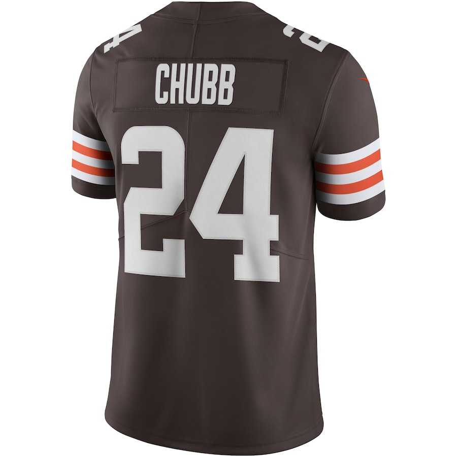 Nick Chubb Cleveland Browns Nike Vapor Limited Jersey - Brown