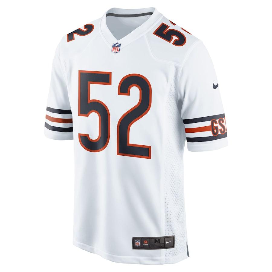 Khalil Mack Chicago Bears Nike Game Jersey - White