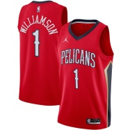 New Orleans Pelicans Jersey Zion Williamson #1 NBA Jersey 2020/21
