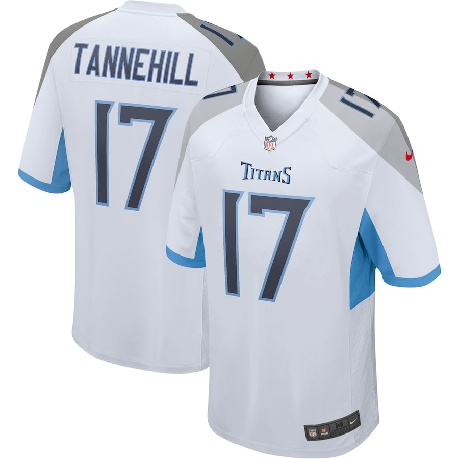 Ryan Tannehill Tennessee Titans Nike Game Jersey – White