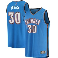 Oklahoma City Thunder Jersey Deonte Burton #30 NBA Jersey
