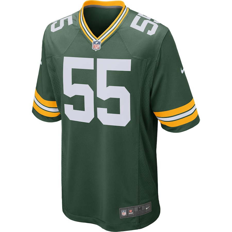 Za Darius Smith Green Bay Packers Nike Game Player Jersey - Green