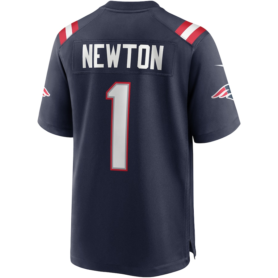 Cam Newton New England Patriots Nike Game Jersey - Navy