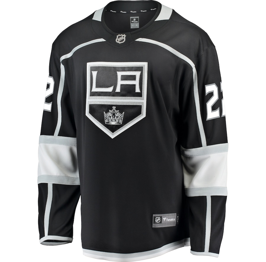 Trevor Lewis #22 Los Angeles Kings Fanatics Branded Breakaway Jersey - Black