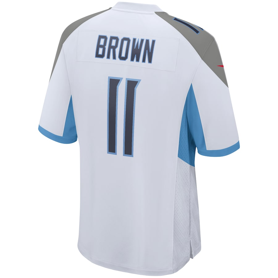 AJ Brown Tennessee Titans Nike Game Jersey – White
