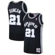 San Antonio Spurs Jersey Tim Duncan #21 NBA Jersey 1998/99