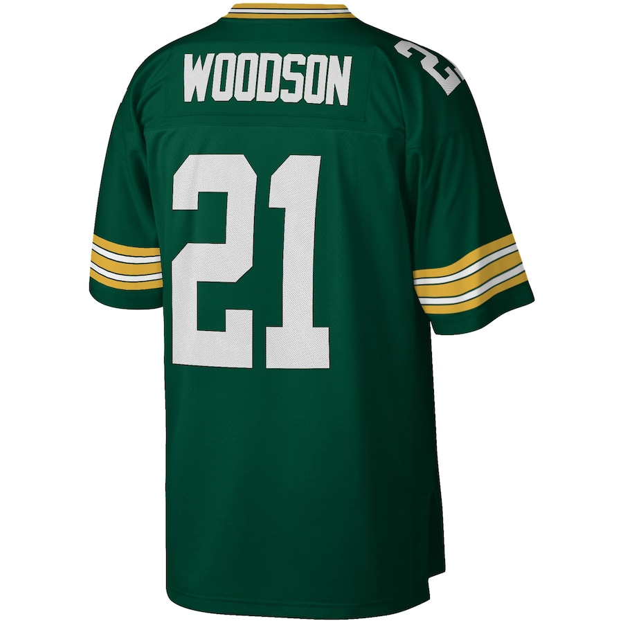 Charles Woodson Green Bay Packers Mitchell & Ness 2010 Legacy Replica Jersey - Green