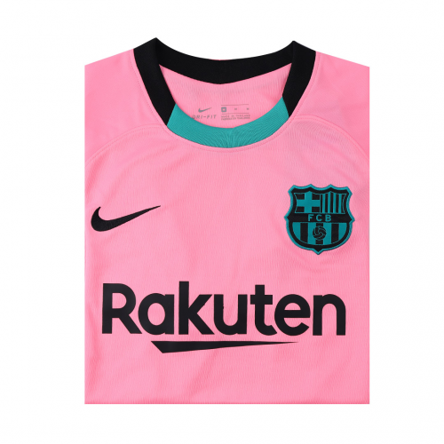 Barcelona Jersey Lionel Messi #10 Third Away Soccer Jersey 2020/21
