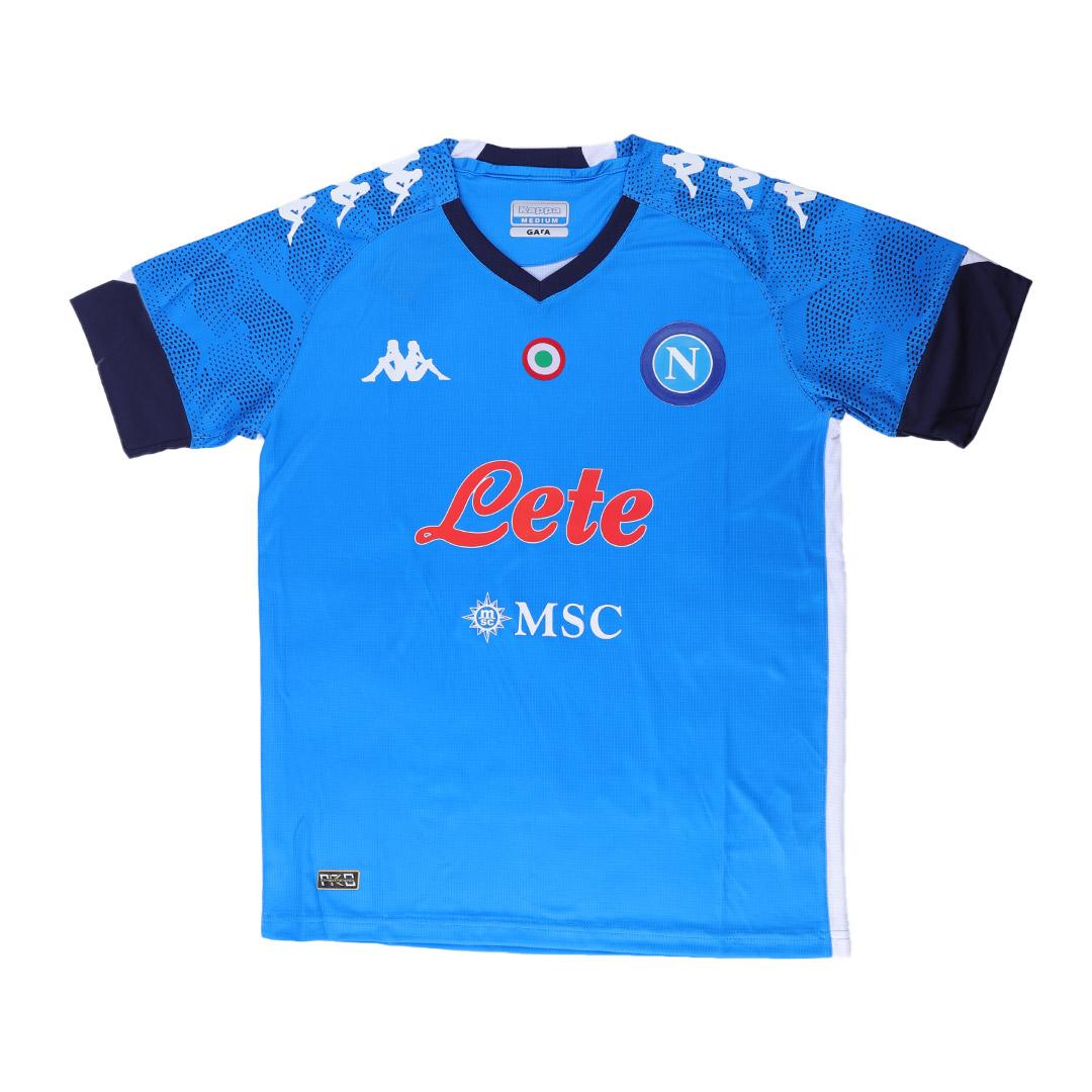 Napoli Jersey Custom Home INSIGNE #24 Soccer Jersey 2020/21