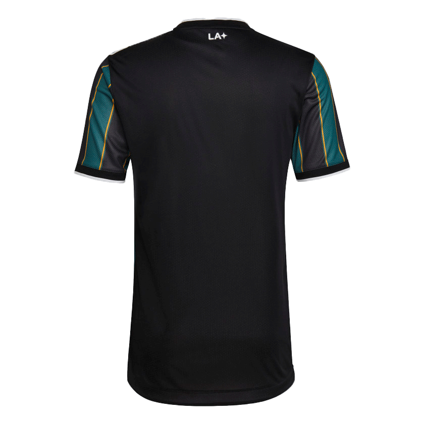 2021 La Galaxy Away Green&Black Soccer Jerseys Shirt(Player Version)
