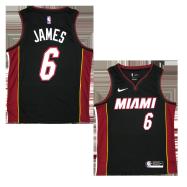 Miami Heat Jersey James #6 NBA Jersey