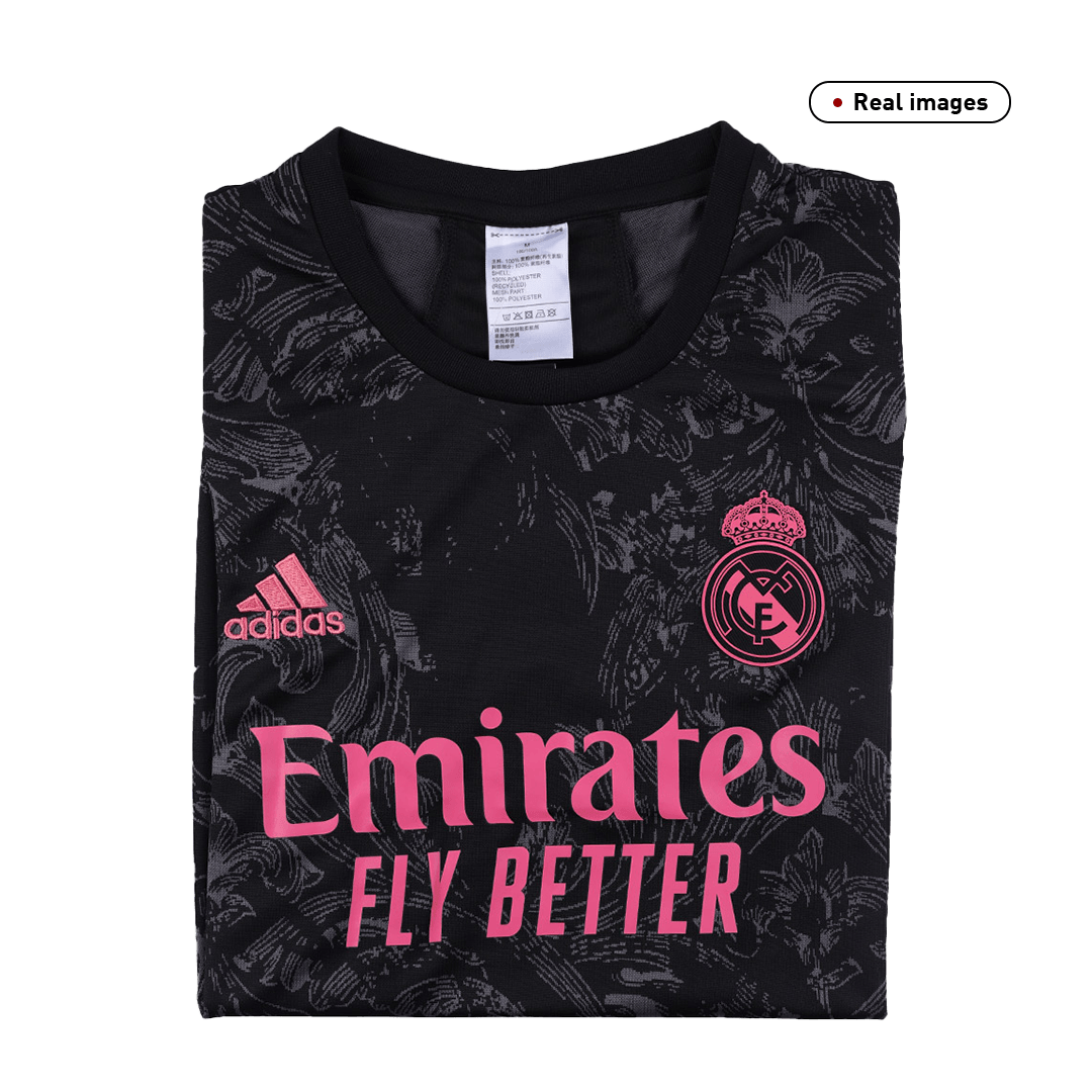 Real Madrid Jersey Third Away Soccer Jersey 2020/21