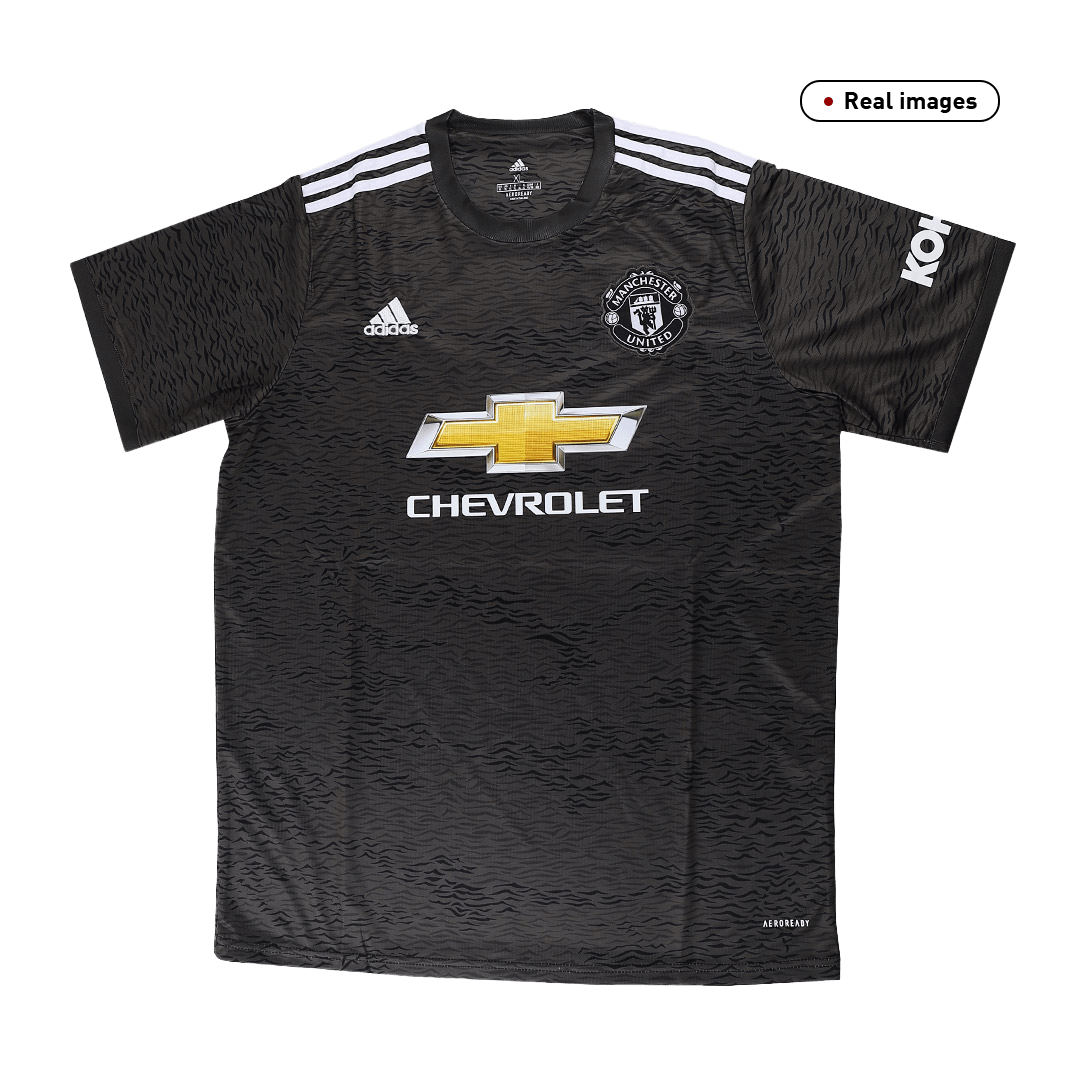20/21 Manchester United Away Black Jerseys Shirt