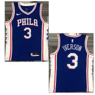 Philadelphia 76ers Jersey Iverson #3 NBA Jersey