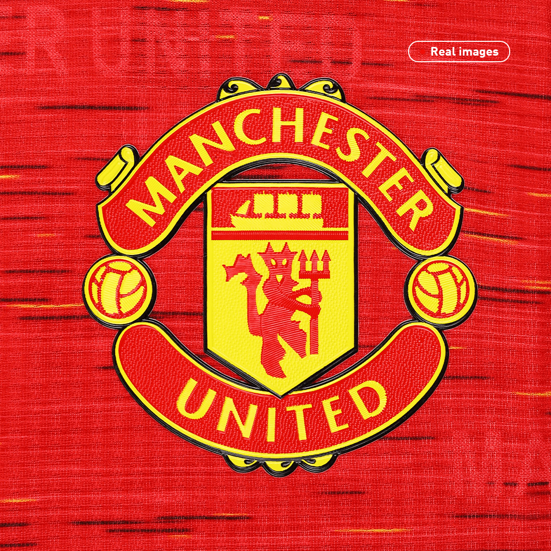 Manchester United Jersey Home Soccer Jersey 2020/21