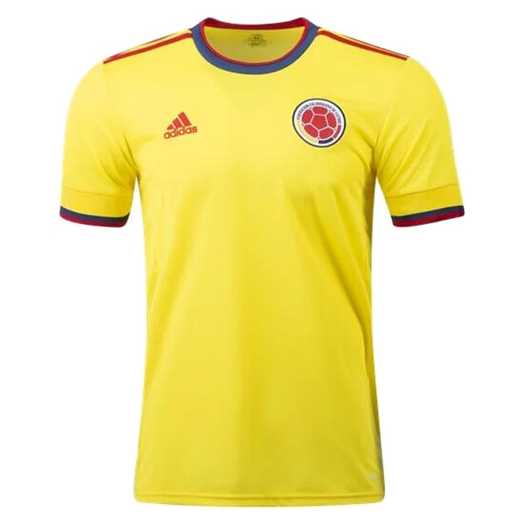 2021 Colombia Home Soccer Jerseys Shirt(Player Version)
