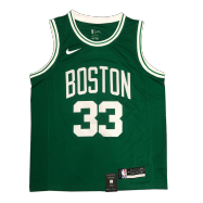 Boston Celtics Jersey Bird #33 NBA Jersey 2020/21