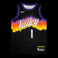 Phoenix Suns Jersey Devin Booker #1 NBA Jersey 2021