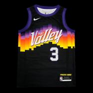 Phoenix Suns Jersey Paul #3 NBA Jersey 2021