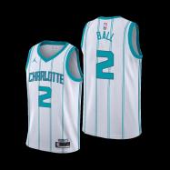 Charlotte Hornets Jersey Ball #2 NBA Jersey 2020/21