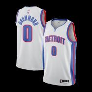 Detroit Pistons Jersey Andre Drummond #0 NBA Jersey
